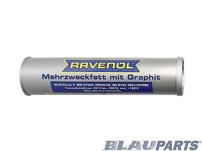 RAVENOL Multi-Purpose Grease w/ Graphite For High Temps and Shock Loads – 400 g