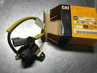 3e0075 Genuine Oem Cat Magnetic Switch Air Inlet Heater Caterpillar 3e-0075