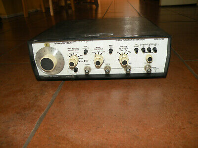 Tested Wavetek 190 Function Generator 20mhz