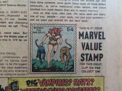 Shanna the She-Devil Marvel Value Stamp #54, like the one in Hulk #181