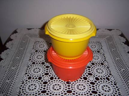 Tupperware Retro Vintage Canister Container Press Seal East Cannington Canning Area Preview