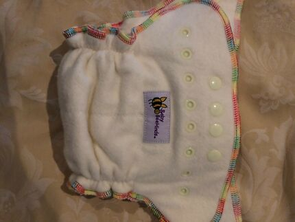 Baby Beehind Cloth Nappy - As New