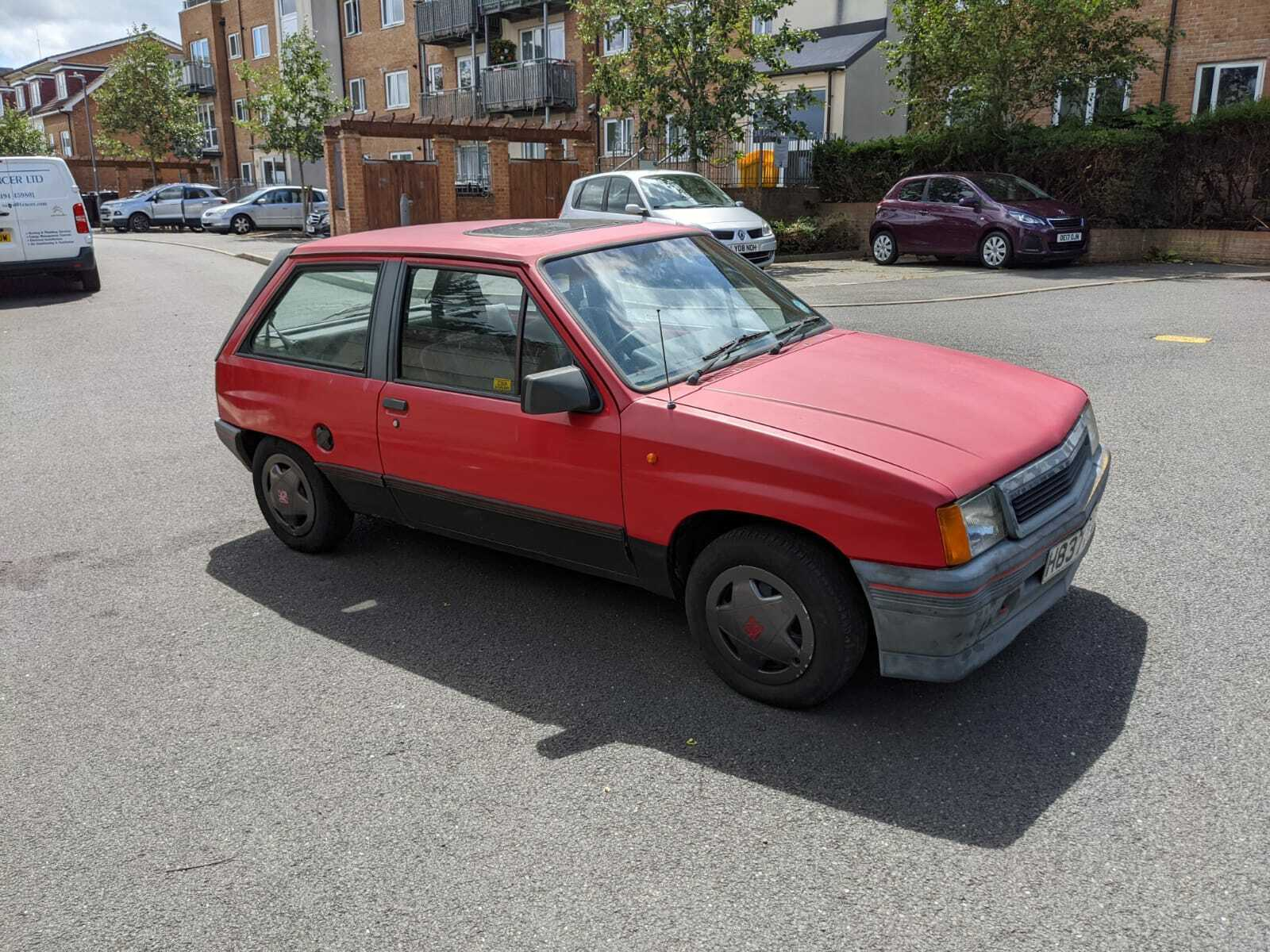 1990-VAUXHALL-NOVA-SR-14-SPARES-OR-REPAIR-STARTS-AND-DRIVES