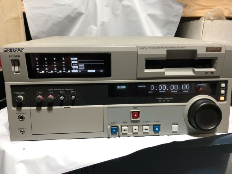Sony Digital Videocassette Recorder DSR-1800A