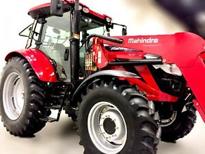 2018 Mahindra 9125P 4WD 125HP - Worlds #1 Selling Tractor Brand!