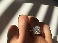 1.73 CARAT CUSHION-CUT DIAMOND RING- VALUED $20,500 GIA CERTIFIED Indooroopilly Brisbane South West Preview