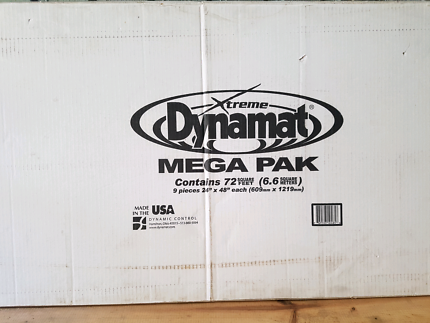 Dynamat Sound proofing