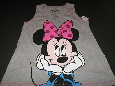 DISNEY Adorable MINNIE MOUSE Hands on Chin TANK TOP Shirt - New! NWT - Girls  XL](Minnie Mouse Hands)