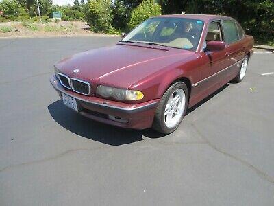 2001 BMW 7-Series  2001 BMW 740IL CALIFORNIA CAR
