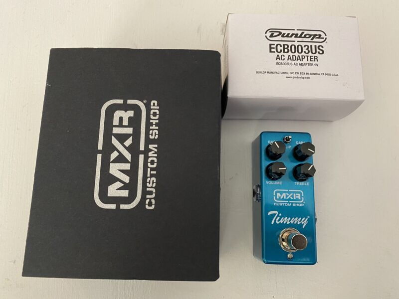 MXR CSP027 Timmy Overdrive Guitar Effects Mini Pedal