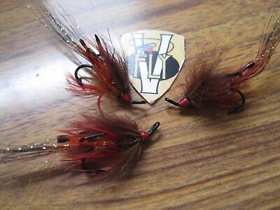 3 V Fly Size 8  Ultimate RV Royal Tosh Double Salmon Flies