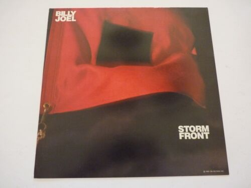 Billy Joel Storm Front LP Record Photo Flat 12x12 Poster