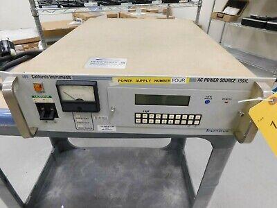California Instruments 1501l Ac Power Source