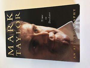 Mark Taylor signed autobiography Highland Park Gold Coast City Preview