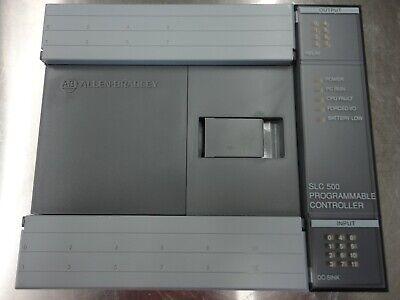 Allen-bradley Slc 500 Processor Unit 1747-l20c Ser. C Frn. 6