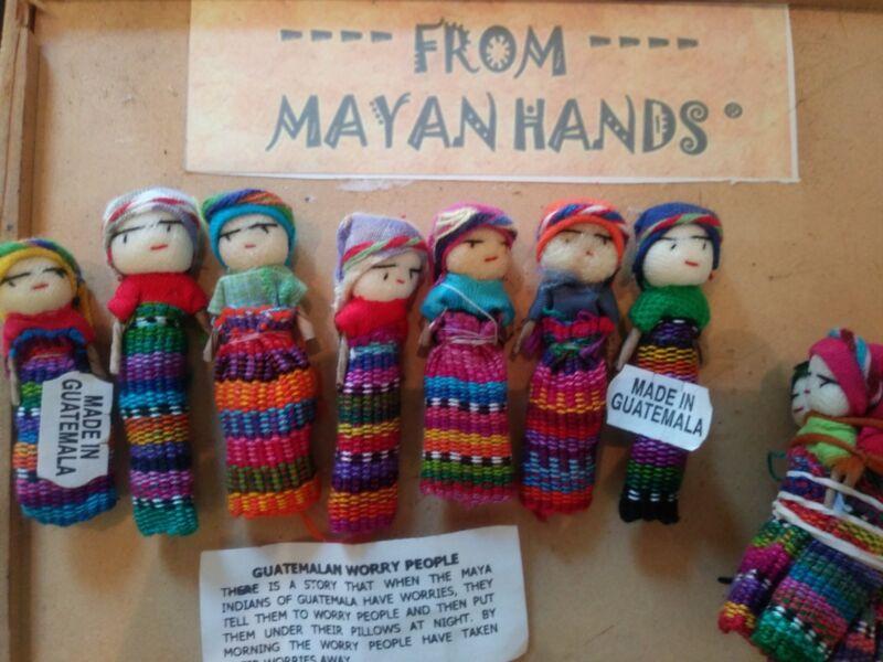Worry Dolls. 7  2in dolls