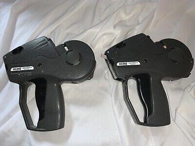 Monarch Price Label Gun Lot Of 2 Guns Markers Labelers