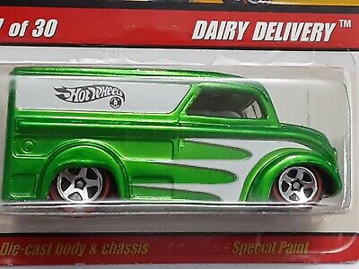 Hot Wheels Classic  Lime Green Dairy Delivery Series 2  #17 of 30