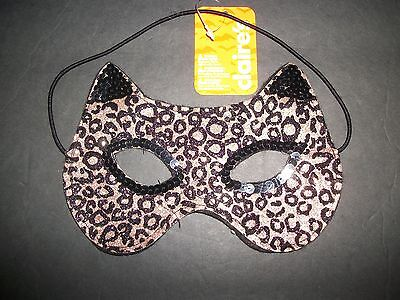 EYE MASK  LEOPARD Print  EYE Mask  Claire's  Halloween/Dress - Up   NWT