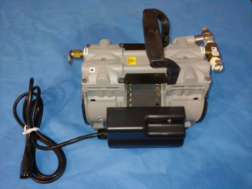 Thomas 2688CE44-358 Vacuum Air Compressor 1/3 HP Phase 1 25/25 MAX PSI