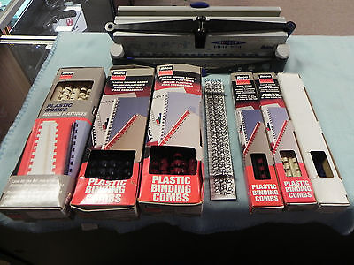 Used, ibico Hitech Binding System with Combs bundle for sale  Umatilla