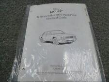 2001 Jaguar XJ XJ8 XH8L Sedan Electrical Wiring Diagrams ...