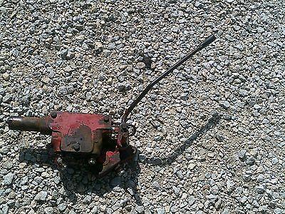 Farmall 656 Rowcrop Tractor Ih Ihc Hydraulic Control Valve Block Assembly Lever