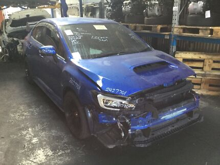 SUBARU WRX G4 SEDAN 2014 CVT AUTO WITH VERY LOW KMS, EXHAUST, BC Revesby Bankstown Area Preview