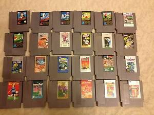 NES Games Nintendo Entertainment System RARE! Epping Whittlesea Area Preview