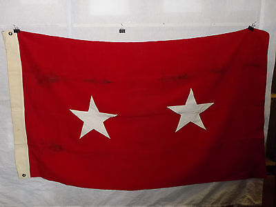 flag783 US Army 2 Star Major General Service Flag wool bunting W9E