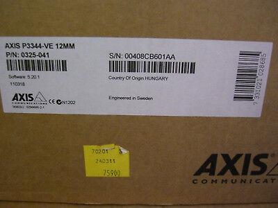 AXIS P3344-VE 6mm Fix Dome H.264 HDTV Außen-Überwachungskamera 6 Mm Hdtv