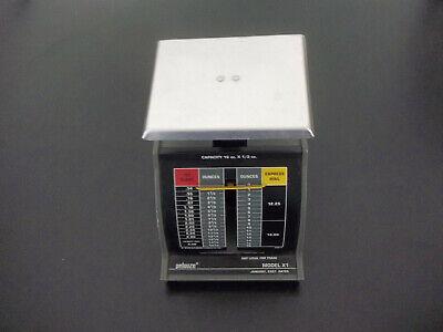 Vintage Pelouze Model X1 1lb Shipping Scale 2001 Usps Rates