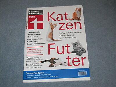 Stiftung Warentest Test Nr. 5/2020, E-Book Reader, Rasentrimmer, Fernseher