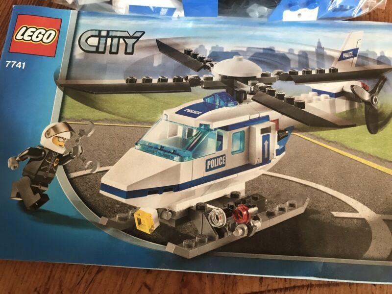 Lego 7741 Police Helicopter Toys Indoor Gumtree Australia