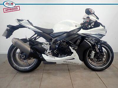 Suzuki GSX R 600 2013 White Spares or Repair Restoration Project Bike Damaged