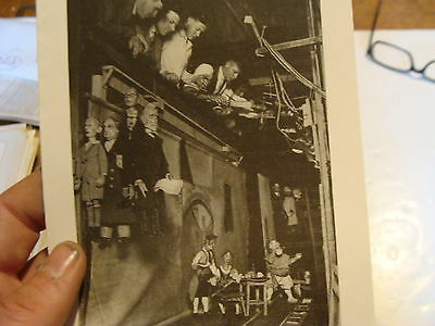 Vintage MARIONETTE Paper: PAUL BRANN'S LECTURE DEMONSTRATION munich 1930's