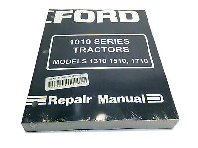 Ford 1310 1510 1710 Tractor Service Manual Repair Shop Book New Wbinder