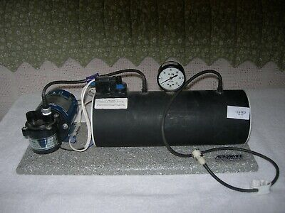 Barnant Co Vacuumpressure Pump 400-1941 With Base And Tank