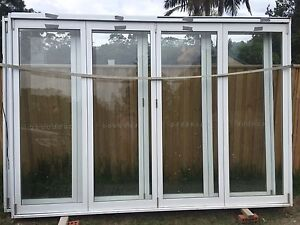 2 sets of Aluminium Bi-fold Doors $800 for one or $1500 for both Collaroy Manly Area Preview