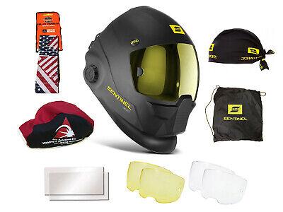 Esab Sentinel A50 Automatic Welding Helmet 0700000800 W Free Headband Beanie