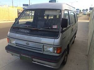 1986 Ford Spectron Van  backpacker/ good for travel 7 seater Maidstone Maribyrnong Area Preview