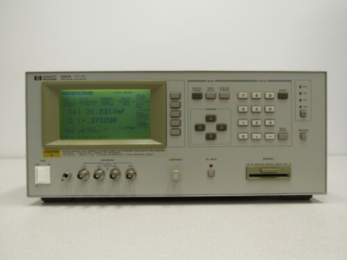 HP Agilent 4284A Precision LCR Meter, 20 Hz to 1 MHz w/options 001 and 006