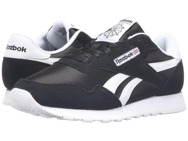 d9e688a2bed ... Men Reebok Royal Nylon BD1553 Black Black White 100% Original Brand New REEBOK  CLASSIC ...
