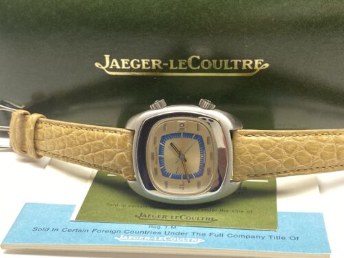 vintage 916 jaeger lecoultre memodate alarm automatic swiss made wristwatch - watch picture 1