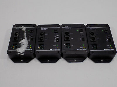 Lot Of 4 Good Used Tcs Basys Qd1010 -rs485 To Rs232 Communications Converter