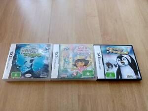 Nintendo DS Games - x3