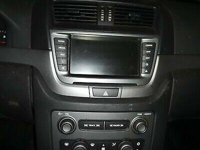 2011-2013 CHEVY CAPRICE PPV RADIO/AC CONTROLS & SCREEN