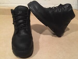 Women's SideWinder Steel Toe Work Boots Size 9.5