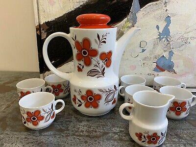 Teapot espresso Schirnding Bavaria Bavarian China Art Deco Vintage tea set