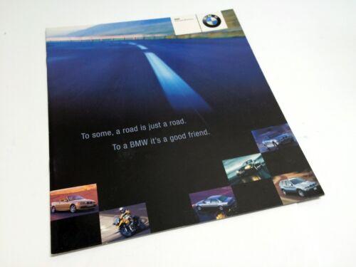 2000 BMW 323 328 528 540 740 750 Z3 Z8 M Roadster M Coupe M5 X5 Preview Brochure